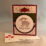 By Debbie Mageed, Easter Lamb, Stampin Up