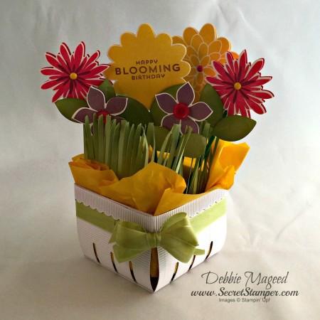 Flower Patch, Berry Basket Bigz L