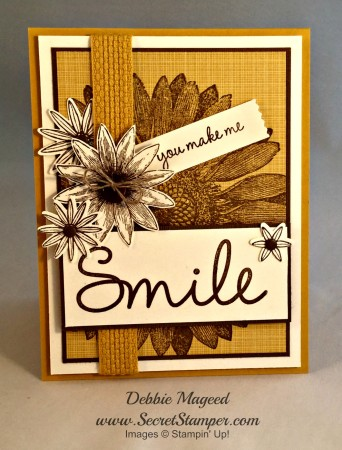 Grateful Bunch, Sunflower, So You, Stampin Up