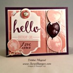 By Debbie Mageed, Hello, Balloon Builders, Stampin Up