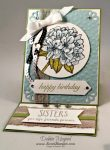 By Debbie Mageed, Best Thoughts, Bloomin Love, Easel Card, Stampin Up