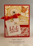 By Debbie Mageed, Best Thoughts, Itty Bitty Banners, Stampin Up