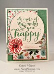 By Debbie Mageed, Hello Life, Teeny Tiny Wishes, Bravo, Flower Shop, Stampin Up