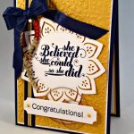 By Debbie Mageed, Feel Goods, Bravo, Graduation, Stampin Up