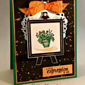 Playful Palette DSP for the Stampin' Sisters' May Challenge