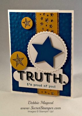 Words of Truth, Graduation, Stampin Up