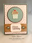 By Debbie Mageed, Cupcake Party, Sky is the Limit, Stampin Up