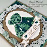 I Love you, Stampin' Up! Baby Bear