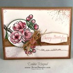 Stampin' Up! Balloon Celebration and  Indescribable Gift