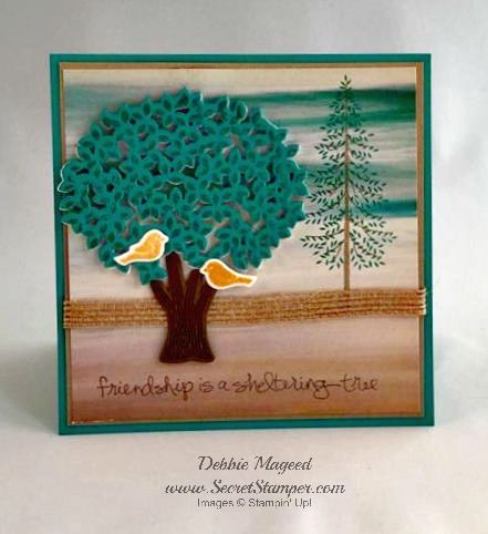 Thoughtful Branches, Sheltering Tree, Stampin Up