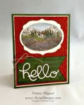 By Debbie Mageed, Tuscan Vineyard, Hello You Thinlits, Stampin Up
