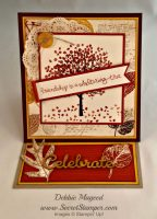 Stampin' Up! Sheltering Tree with French Foliage Easel Card