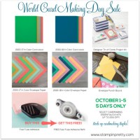 Celebrating Happy World Card-Making Day with Blog Candy