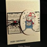 The Holiday Season Begins with Merry Mice from Stampin' Up!