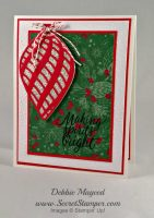 Delicate Ornament Thinlits with Stampin' Up! Tin of Tags