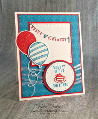 Designer Tee Balloon Adventures for Any Occasion Using Stampin' Up!