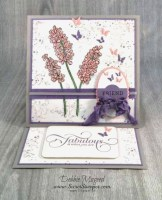 It's a Vintage Spring Card from Stampin' Up! Helping Me Grow