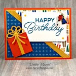 By Debbie Mageed, Birthday Blast, Balloon Adventures, Masculine, Stampin Up
