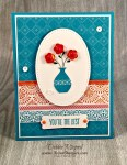 By Debbie Mageed, Button Buddies, All Things Thanks, Stampin Up