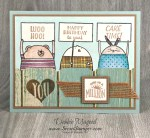By Debbie Mageed, Cheerful Critters, Custom Tee, Scenic Sayings, Birthday, Kids, Stampin Up