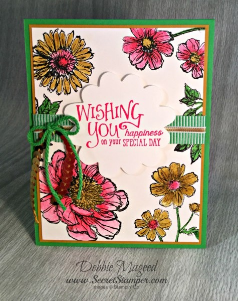 By Debbie Mageed, Bloom with Hope, Better Together, Stampin Up