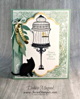 It's a Birthday Builder Birdcage Card with Stampin' Up!