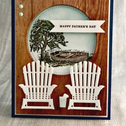 By Debbie Mageed, Moon Lake, Teeny Tiny Wishes, Masculine, Father's Day, Stampin' Up!