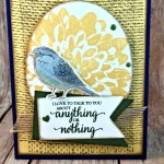 By Debbie Mageed, Best Birds, Definitely Dahlia, So Many Shells, Burlap, Stampin Up