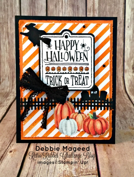 By Debbie Mageed, Halloween Treat, Paper Pumpkin, Halloween, Stampin Up
