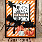 Stampin' Up! Has a Halloween Treat for Retro Rubber #73