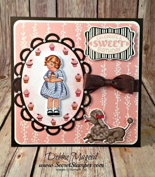By Debbie Mageed, Cycle Celebration, Happy Celebrations, Carry On, Birthday Delivery, Birthday Memories, Birthday Friends Framelits, Stampin Up