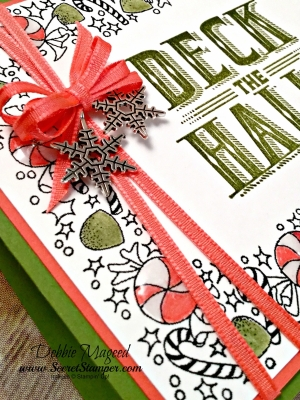 By Debbie Mageed, Carols of Christmas, Holiday, Stampin Up