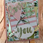 By Debbie Mageed, Sure Do Love You, Botanicals for You, Valentines, Stampin Up