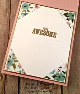 By Debbie Mageed, Sure Do Love You, Botanicals for You, Epic Celebrations, Valentines, Stampin Up