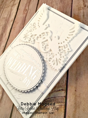 By Debbie Mageed, Happy Notes, Wedding, Anniversary, Stampin Up