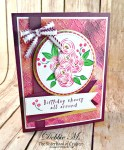 By Debbie Mageed, Perennial Birthday, Stampin Up