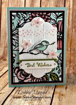 Petal Passion Suite Makes a Beautiful Birthday Card for Cardz 4 Galz