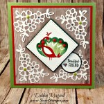 Showcasing Stampin' Up!'s  FREE Beautiful Peacock from Sale-A-Bration