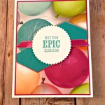 By Debbie Mageed, Epic Celebrations, Picture Perfect Party, Occasions, Stampin Up