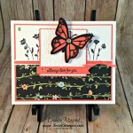 Elegant Spring Card featuring #BackgroundBits, #SharingSweetThoughts, #ColorfulSeasons, #SecretStamper, #WholeLotofLovely, #StampinUp,
