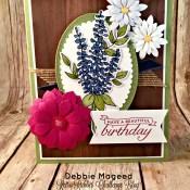 Birthday Blossoms Retires in Full Bloom for Retro Rubber