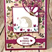 Sending Hedgehugs and Share What You Love for the Sisterhood of Crafters