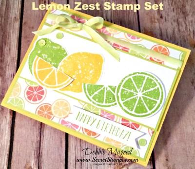 It's a Birthday Card with Lemon Zest for Cardz 4 Galz