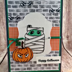 Spooky Halloween Card Featuring #JarOfHaunts, #SpookyCat, #Halloween, #StitchedSeasons, #SecretsToStamping, #StampinUp