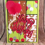 Broadway Bound Happy Birthday Cards for the Q is for Quad Alphabet Challenge