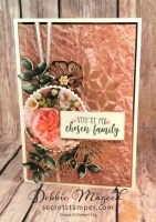 Beautiful Vintage Card for Your Besties Featuring Part of My Story and Oh So Eclectic, #Vintage #Friendship #PetalPromenade #SecretstoStamping #StampinUp