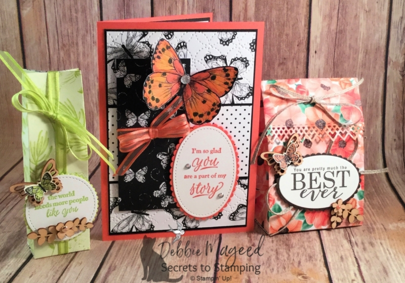Pretty Friendship Card using Part of My Story Stamp Set by Stampin' Up!