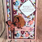 Saying Thanks with Needle & Thread for Hand Stamped Sentiments