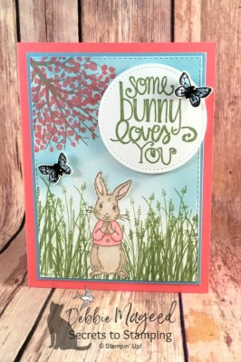 Some Bunny Loves the Fable Friends Stamp Set for Cardz 4 Galz