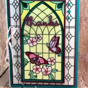 How to Say Thanks with Graceful Glass Vellum Paper for the Sisterhood of Crafters